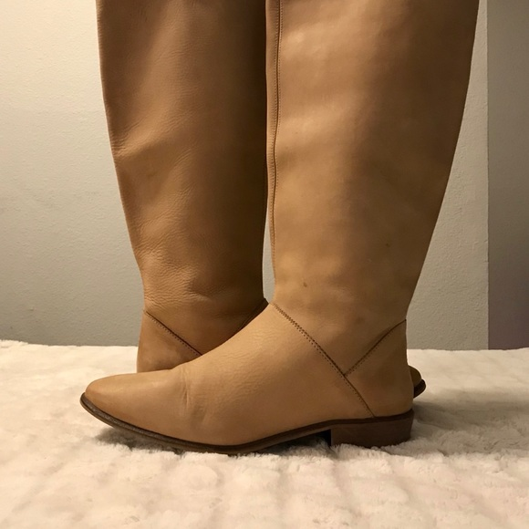 bc8d7c22129 Zara Shoes   Leather Womens Boots   Poshmark